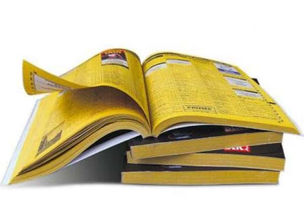 Yellow books are now google and SERP listings